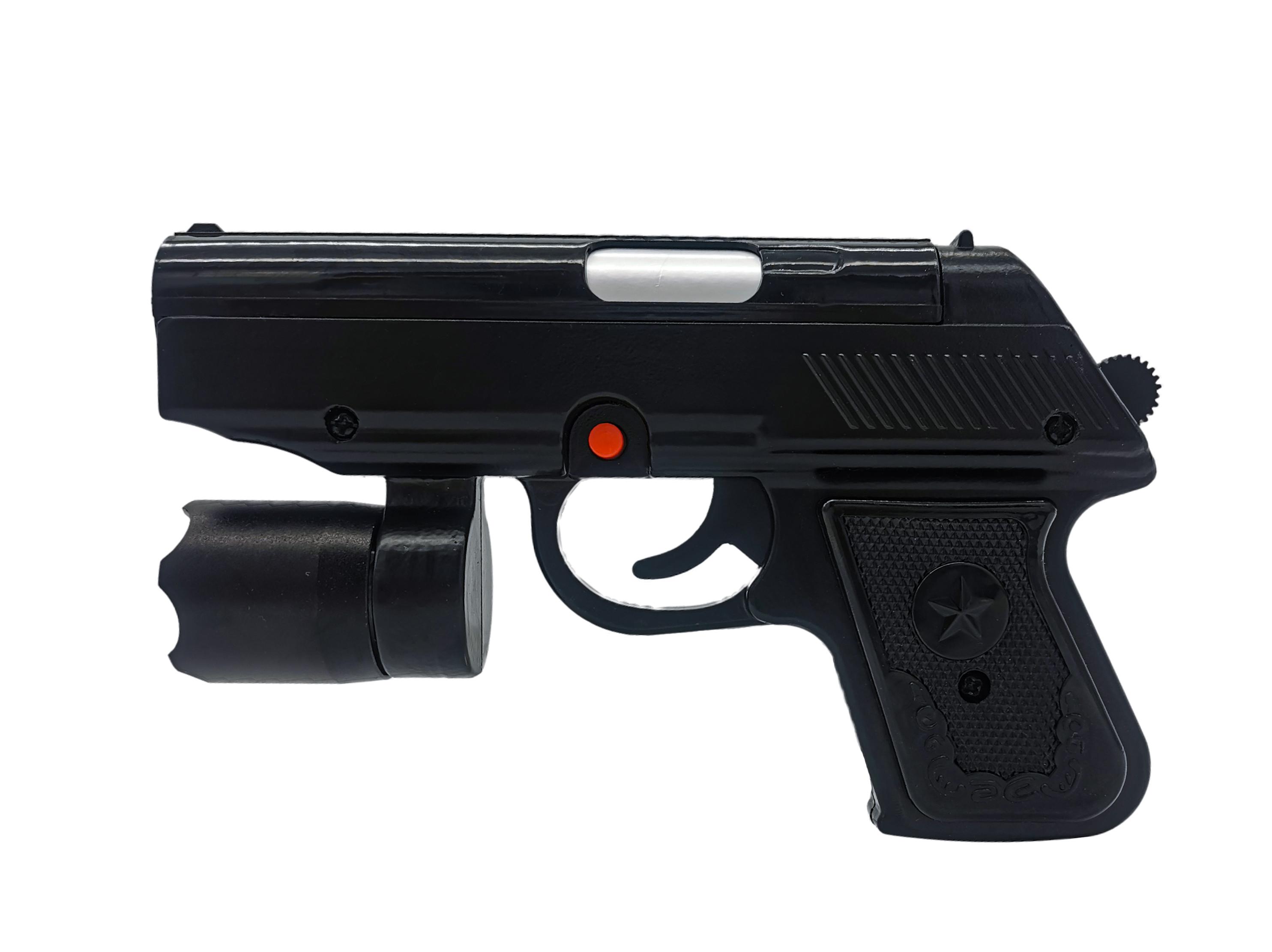 枪式防暴手电